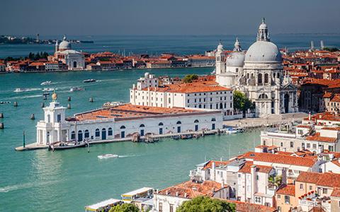 De italienske vandveje