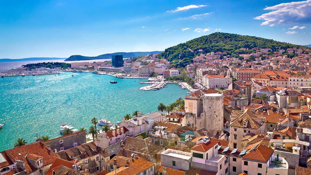 Kroatisk sk�rg�rd, Split