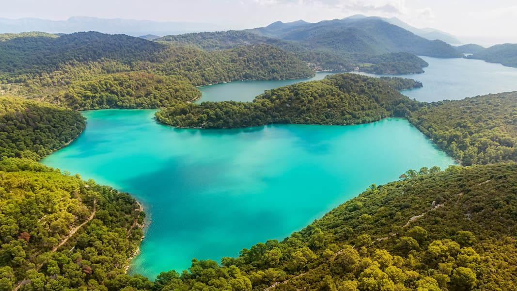 Nationalparken i Mljet