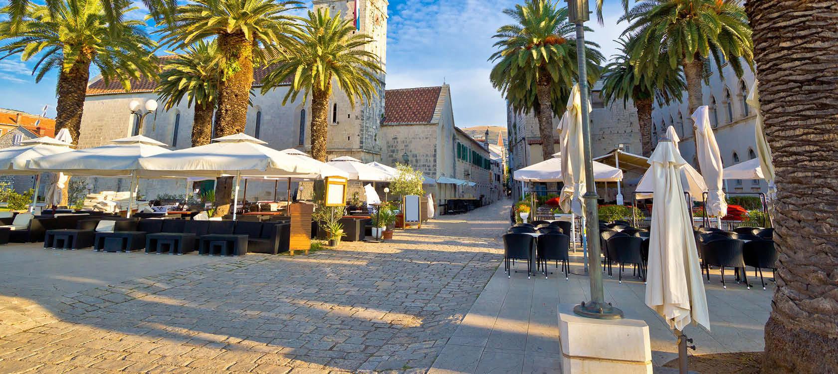 Kroatiens smukke sk�rg�rd