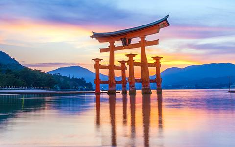 Krydstogt rundt om Japan