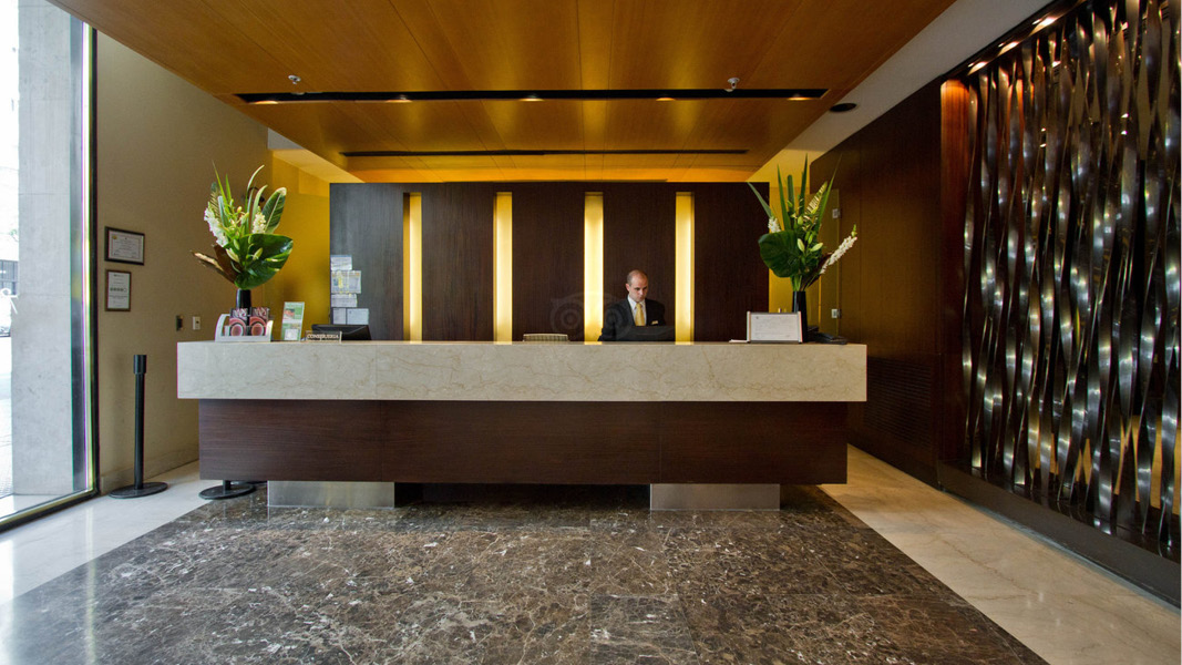 Lobby p� Hotel 725 Continental, Buenos Aires
