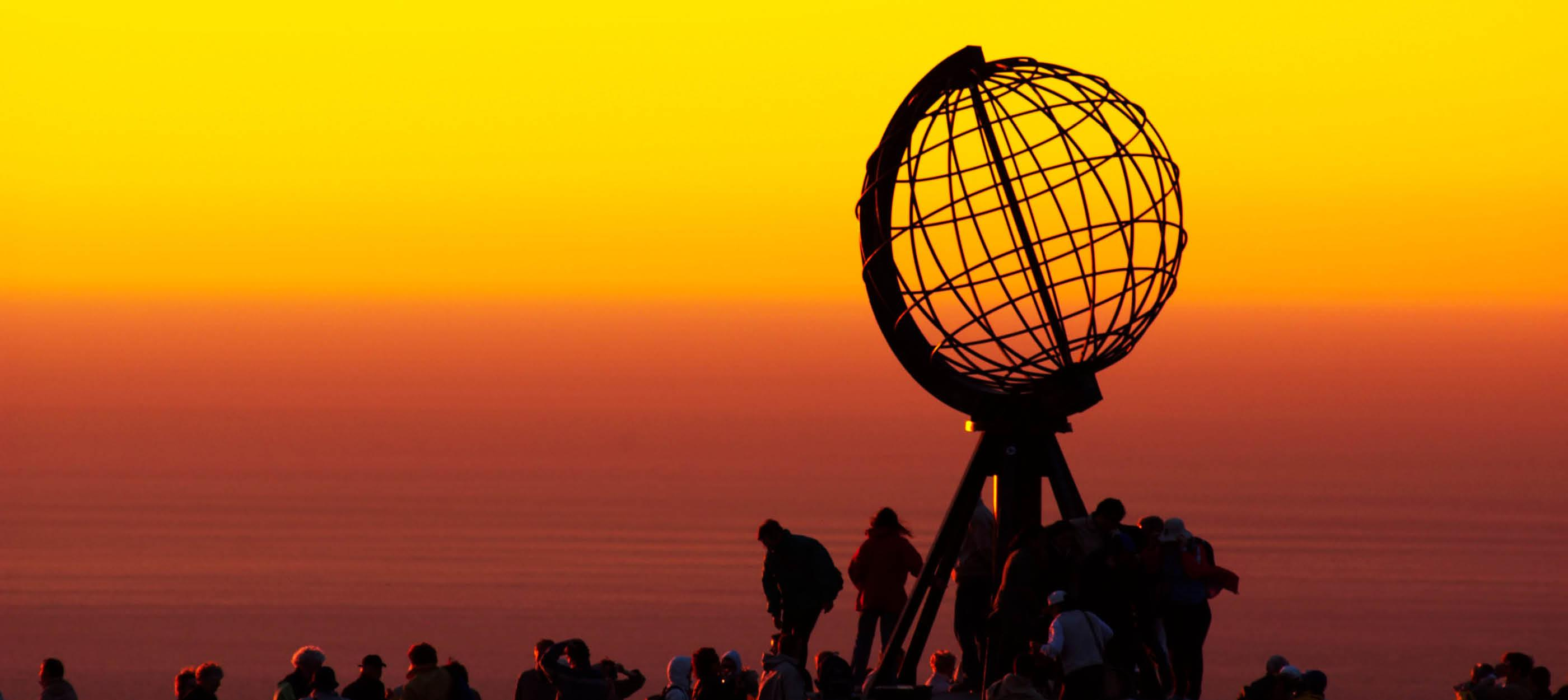 Den ikoniske globus, Nordkap