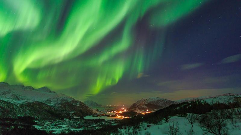 Nordlys, Nordkap