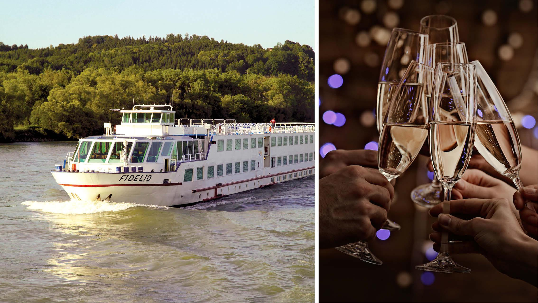 Fejr nytårsaften på Donaufloden med Kulturrejser Europa