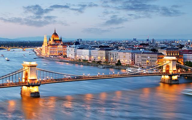 Nytårssejlads på Donaufloden
