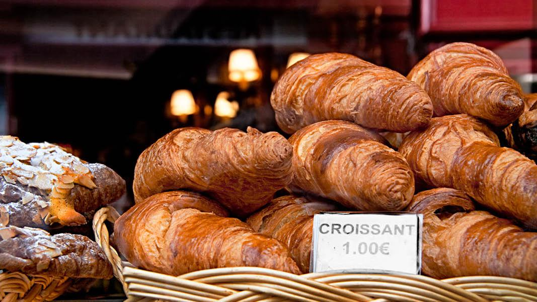 Mad i Paris, croissanter