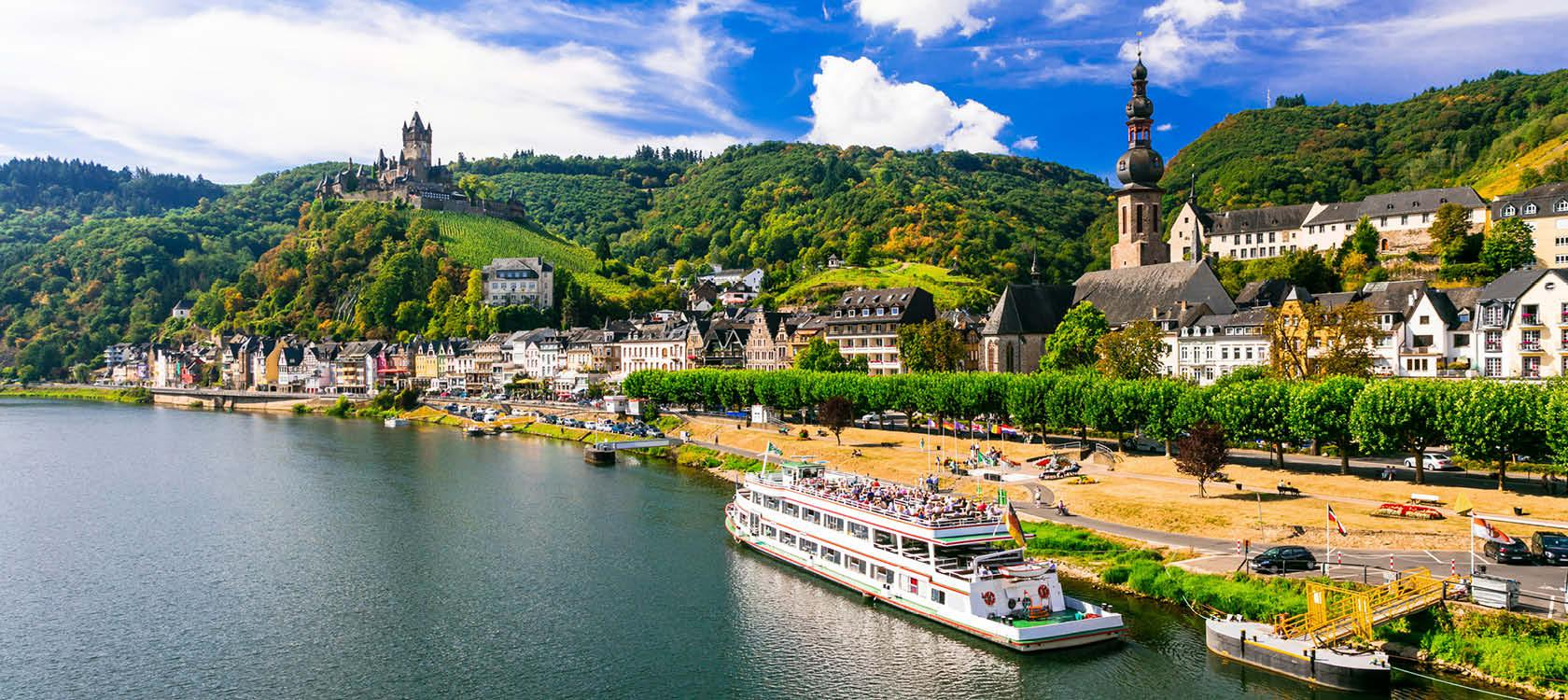 Sejl med på Rhinen