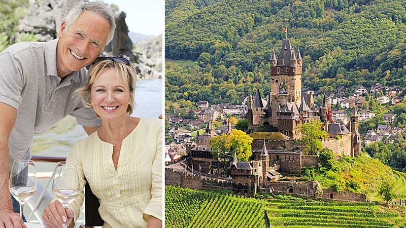 Krydstogt på Rhinen og Mosel