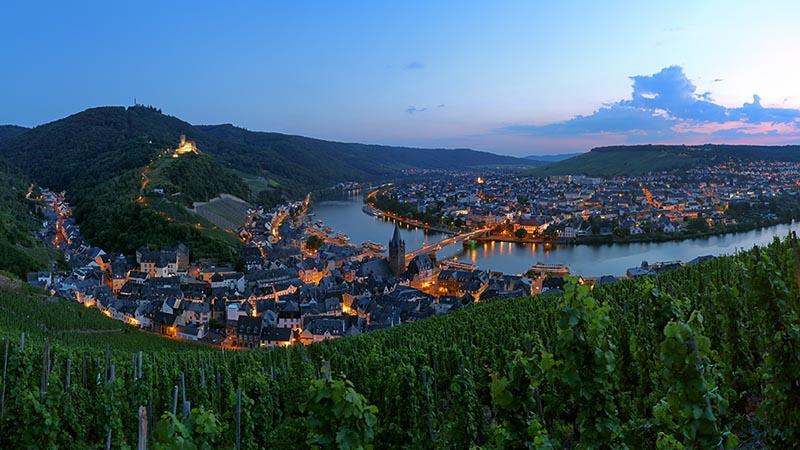 Flodkrydstogt på Rhinen
