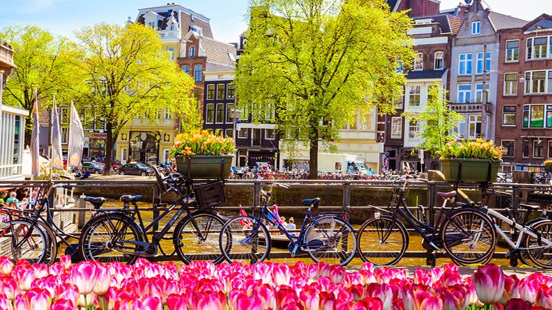 Besøg Amsterdam i Holland med Kulturrejser