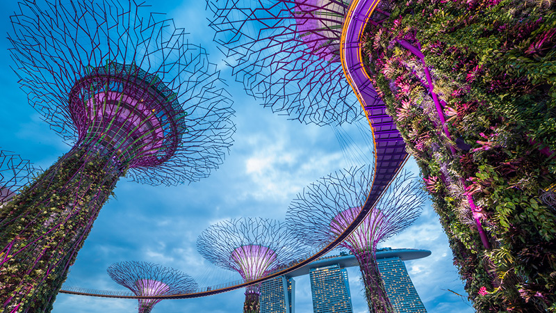 Se det blændende Singapore