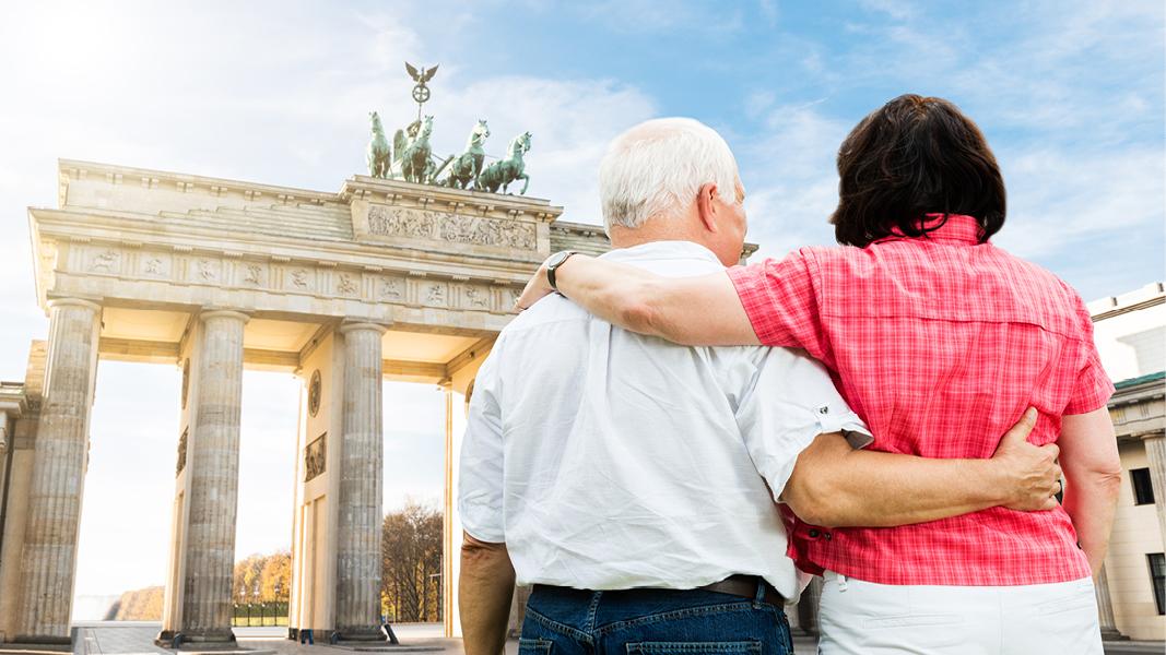 Se Brandenburger Tor i Berlin, Tyskland
