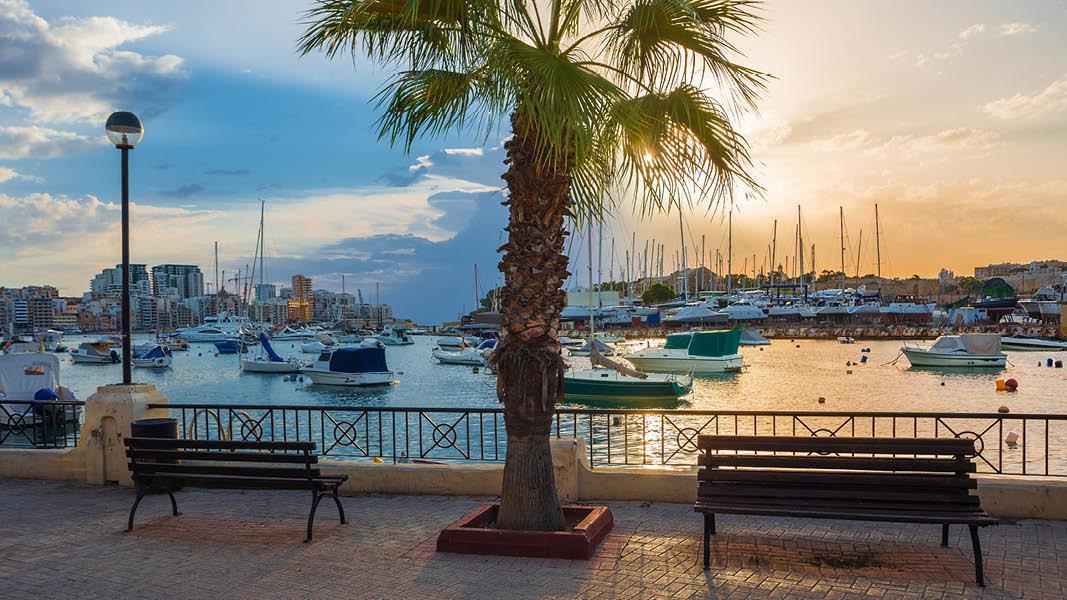Havn og udsigt, Malta