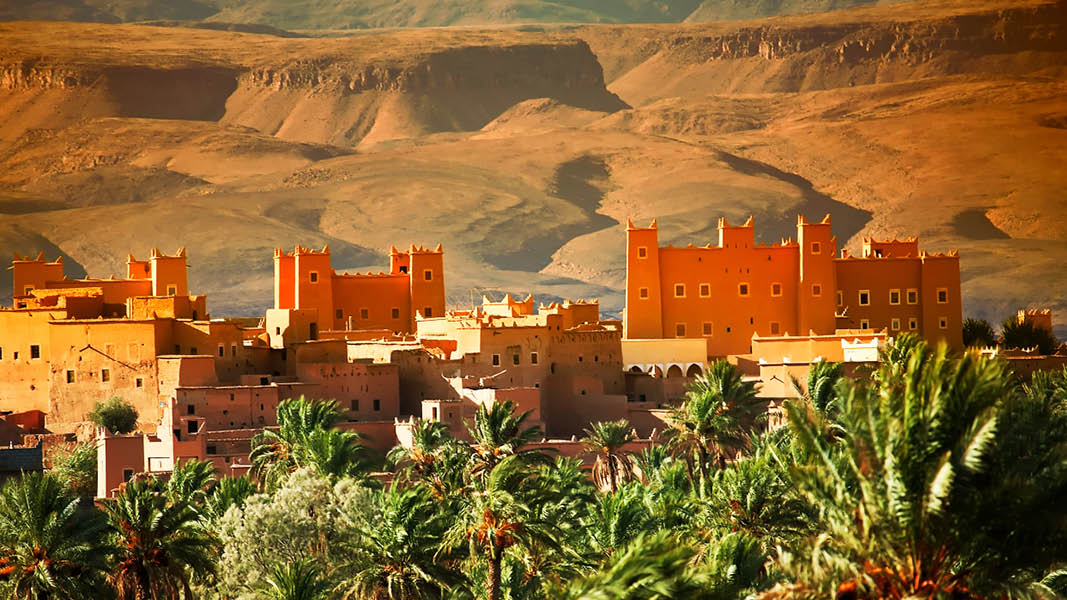 Marokko - Atlasbjergene. Ait Benhadou Kabash