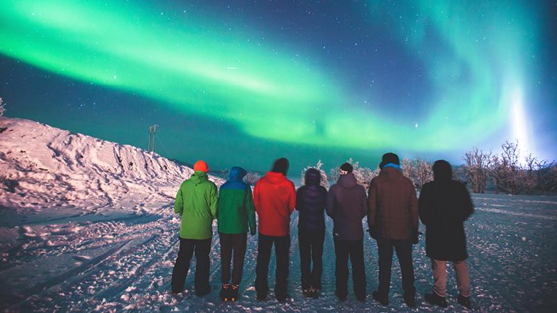 Tag til Svalbard i Norge og se nordlys