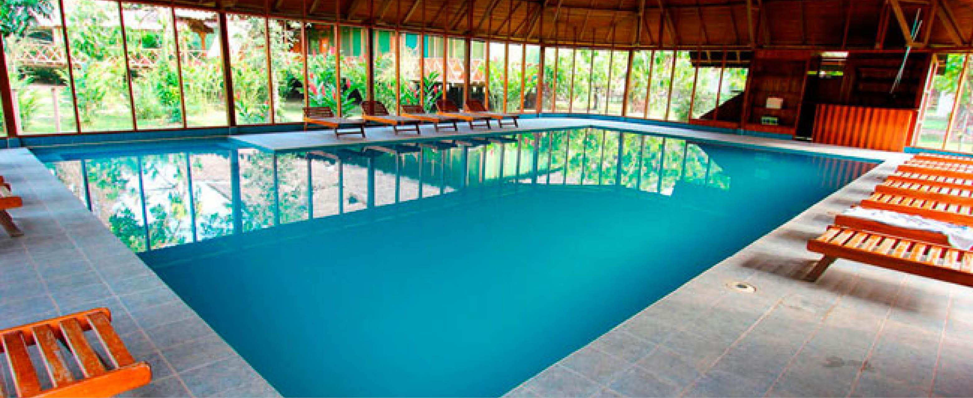 pool p� Eco Amazonia Lodgei perus jungle