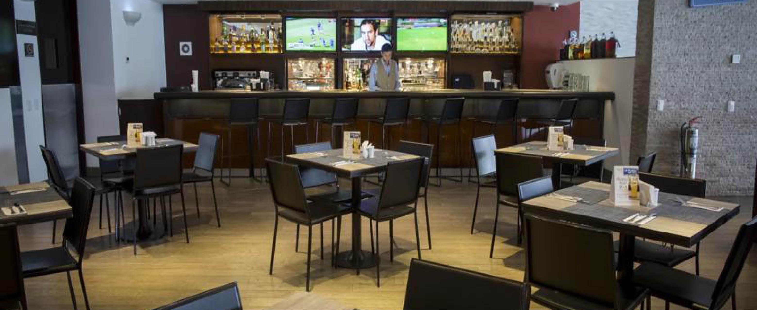 bar og restaurant på Hotel Casa Andina Select i lima
