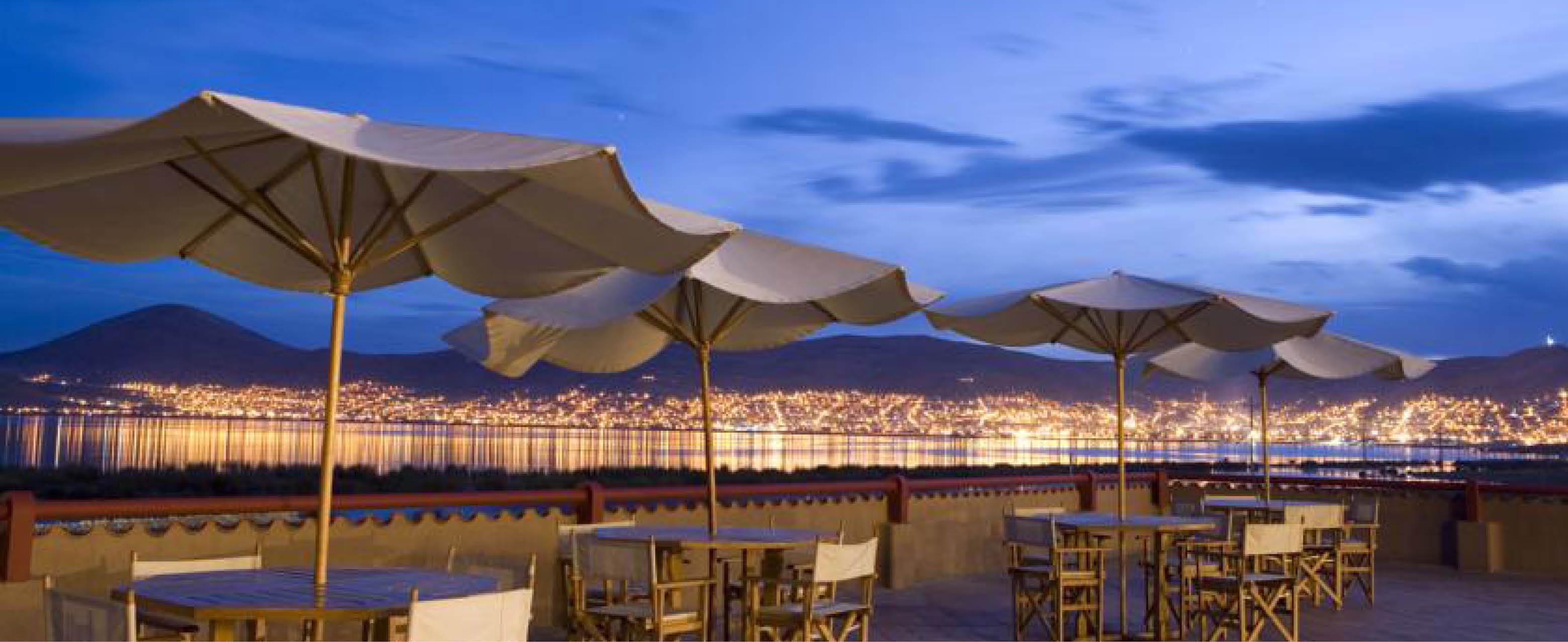 udsigt og terasse Puno - Hotel Casa Andina