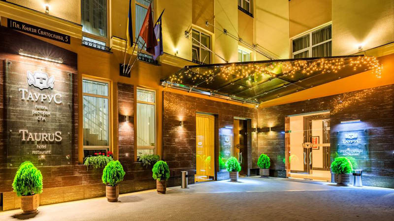Hotel Taurus Lviv