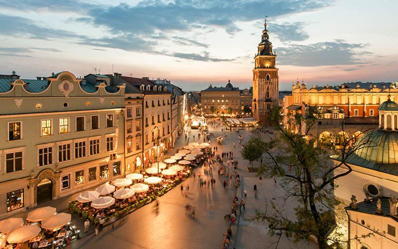 Krakow julemarked
