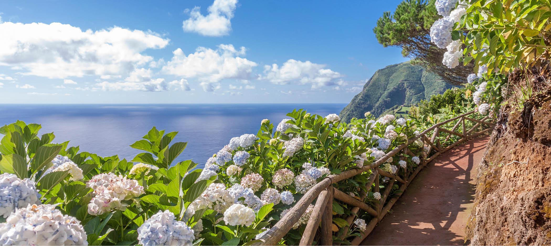 Spektakulære udsigter på Azorerne