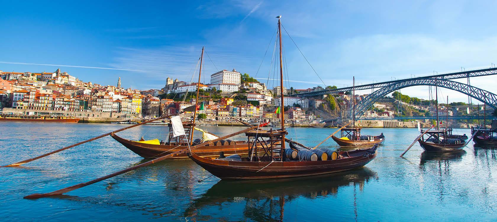 Klassiske b�de i Porto