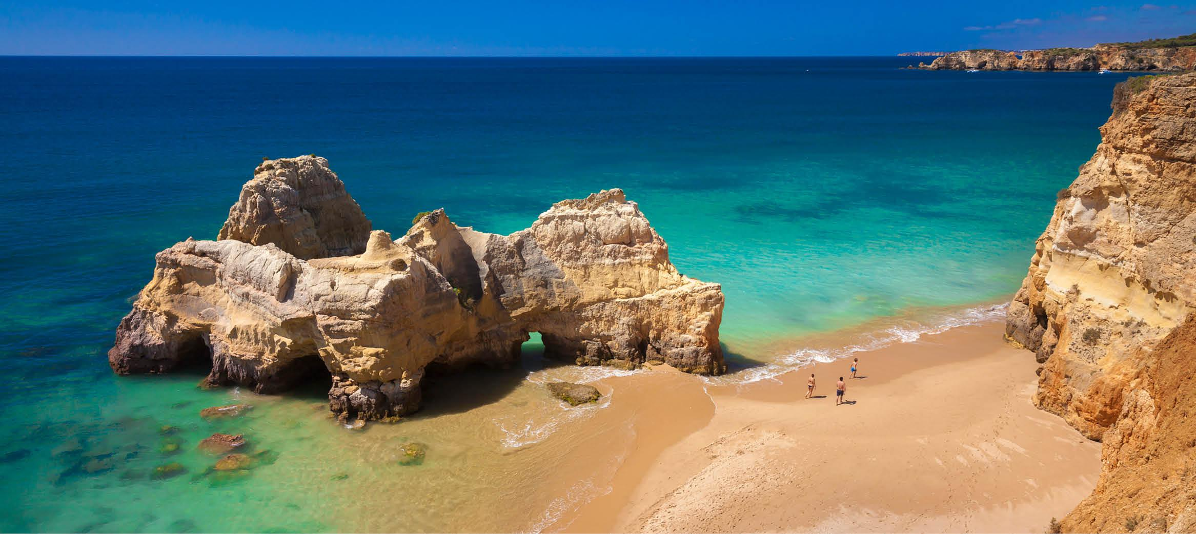 Algarvekysten, Portugal