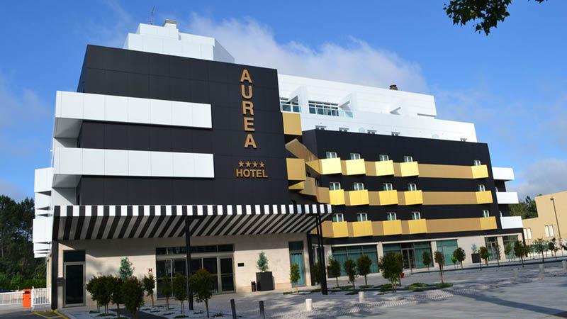 Aurea Fatima Hotel set udefra