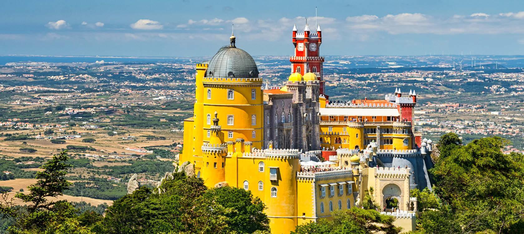 Eventyrslottet Sintra i Portugal
