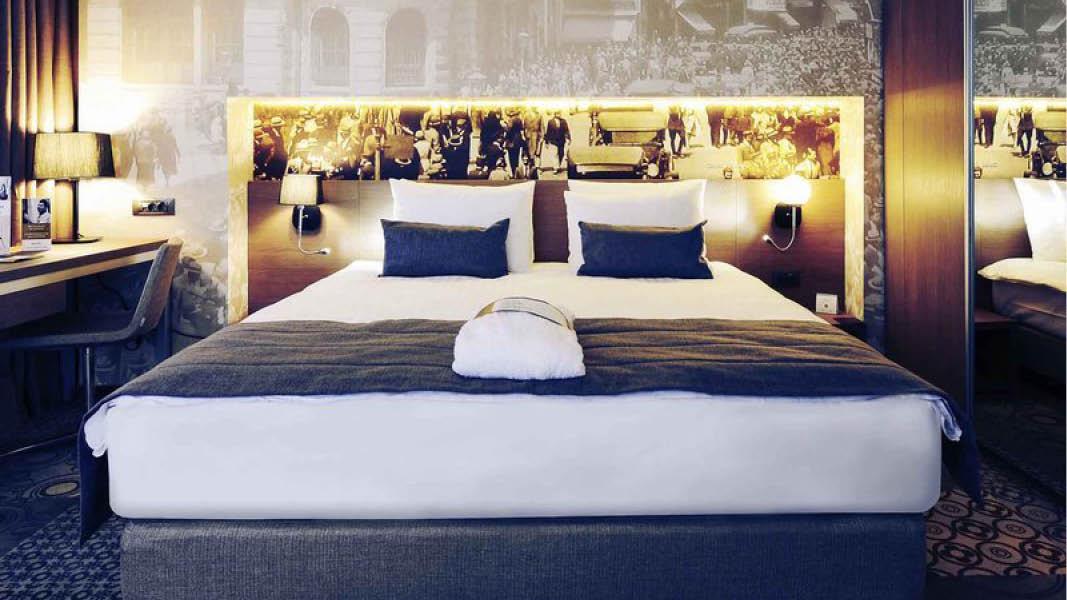 Dobbeltværelse på Hotel Mercure Bukarest