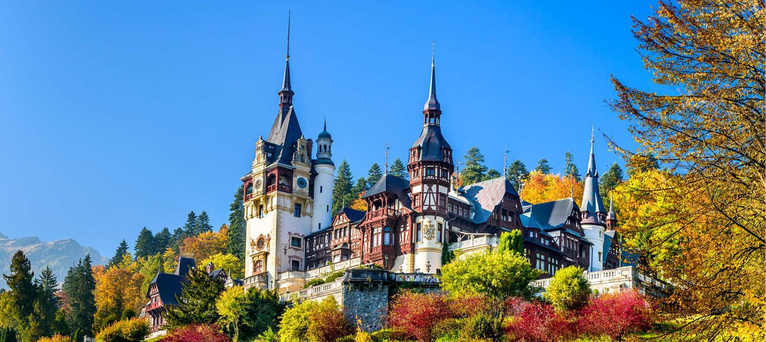 Peles Castle i Rumænien rundrejse kulturrejser