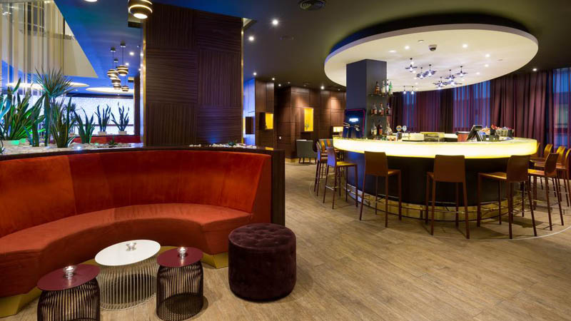 bar p� Saint Petersburg Hotel Rusland