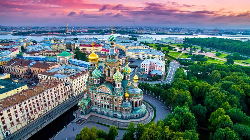 Oplev Sankt Petersborg med Kulturrejser