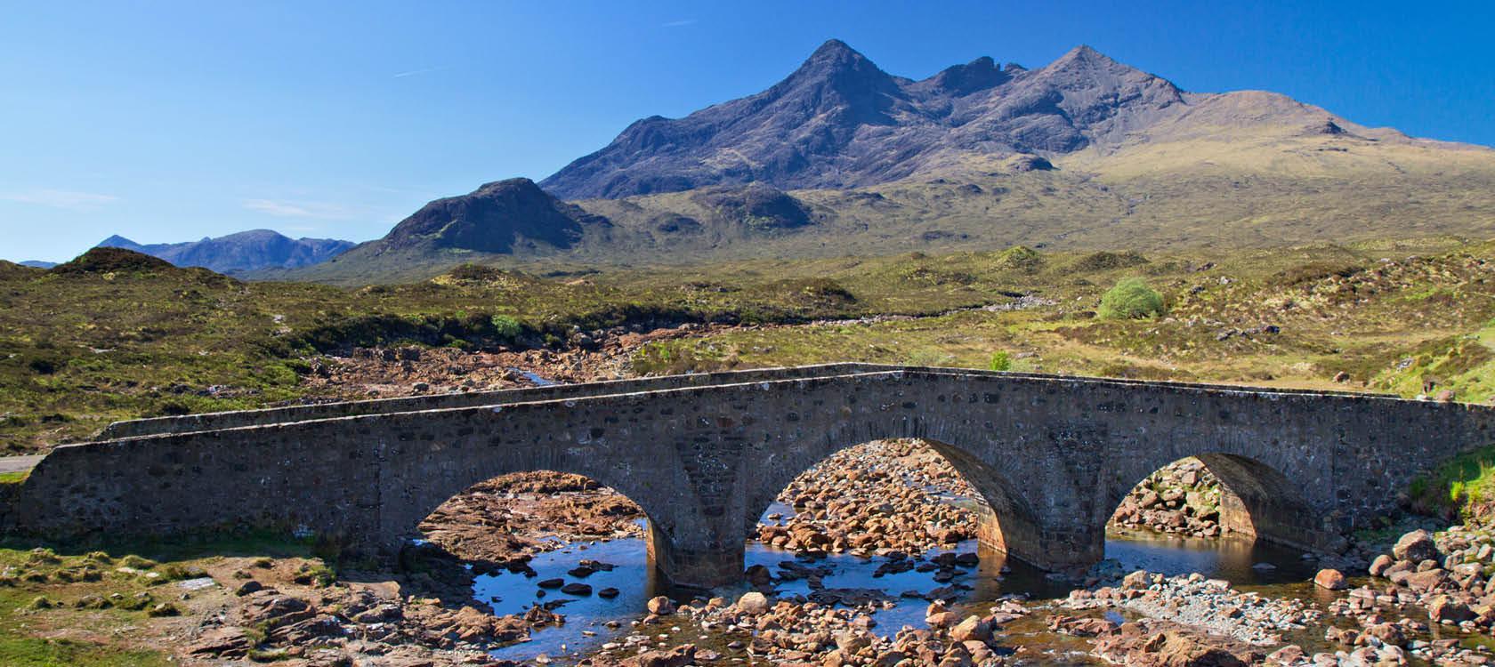 Isle of skye i Skotland