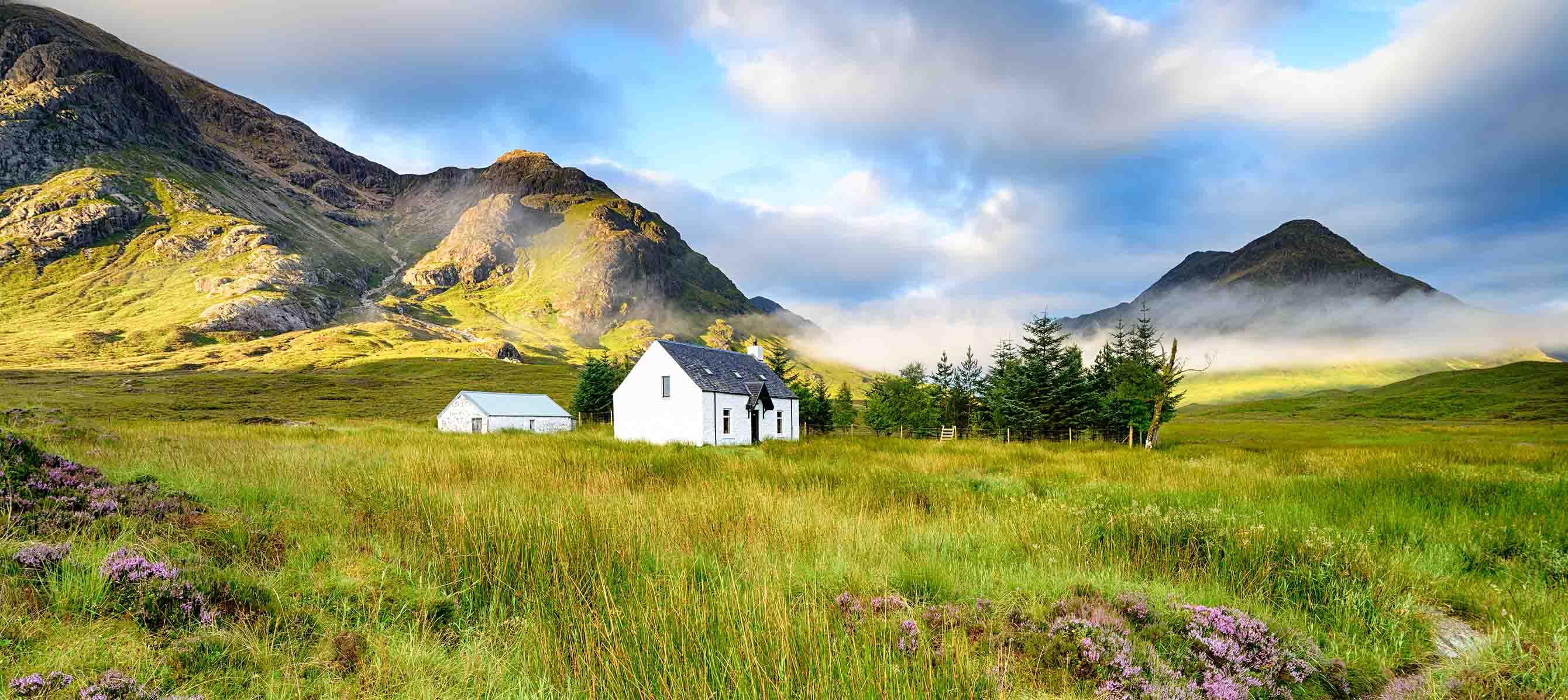 Rejs til Glencoe i det vestlige Skotland med Kulturrejser Europa