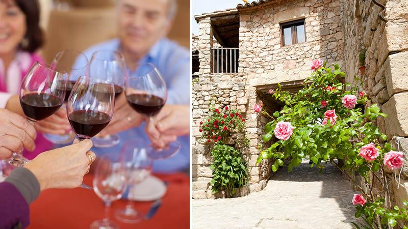 vin og stemning spanien