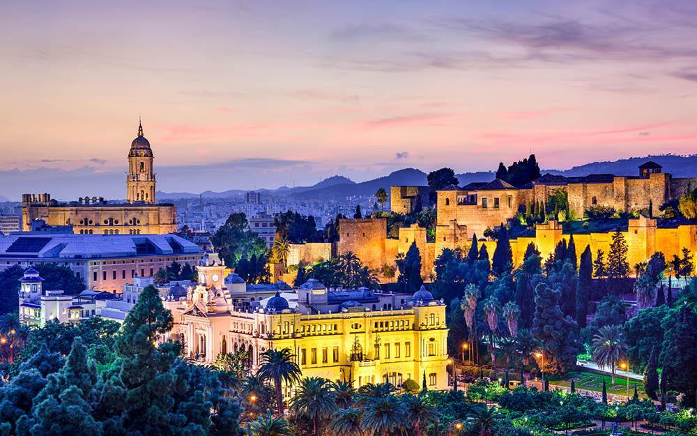 Julestemning i Málaga