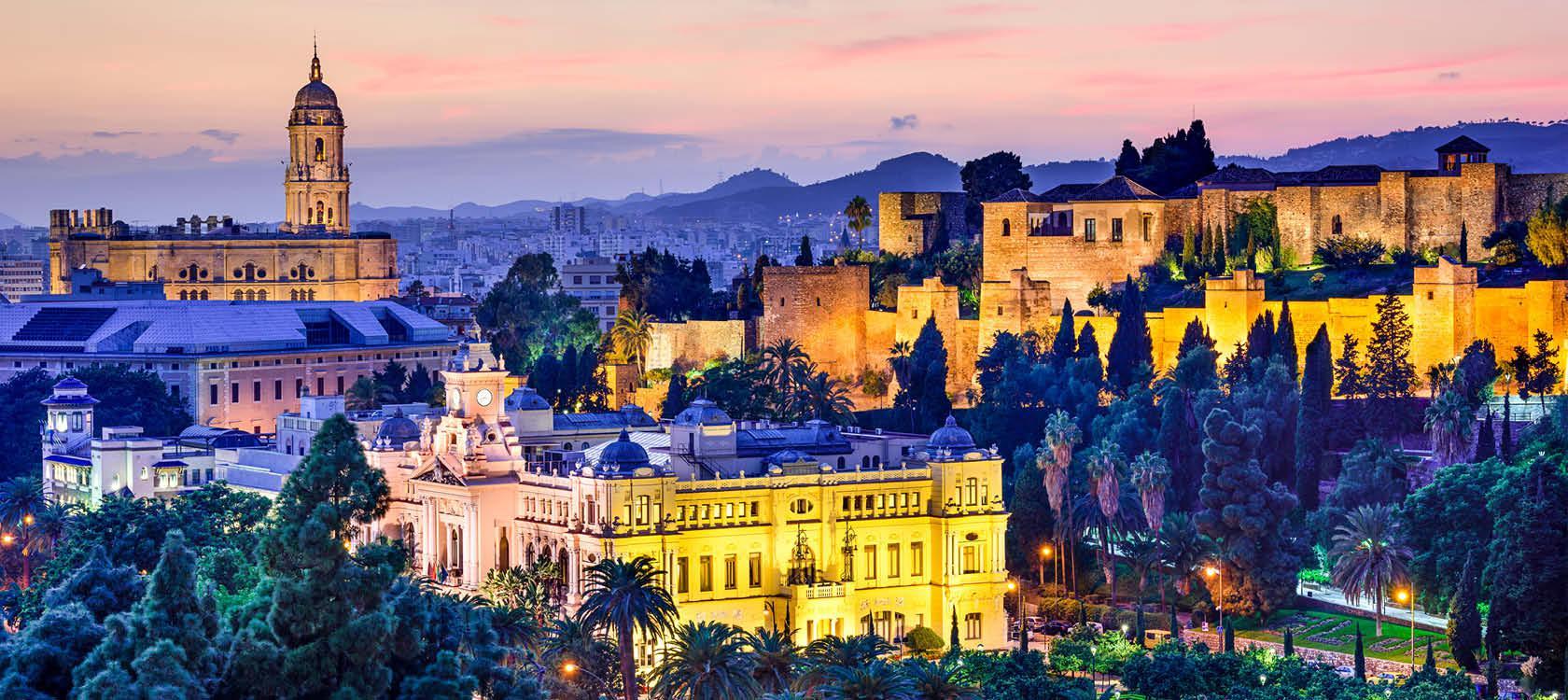 Jul i Malaga, Spanien