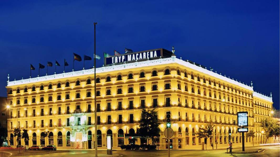 Hotel Tryp Macarena, hotel Sevilla Macarena, Andalusien, Spanien