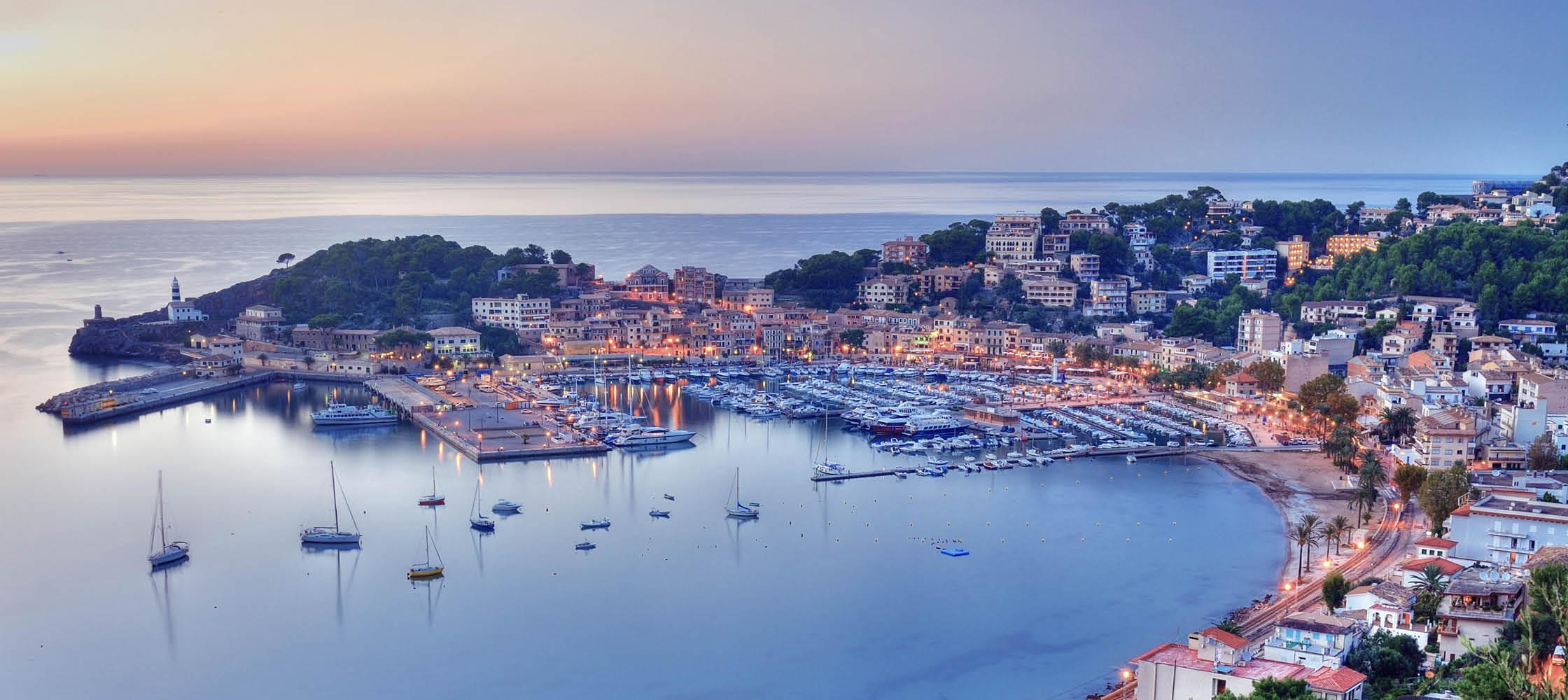 Charmerende Port de Sollér, Spanien