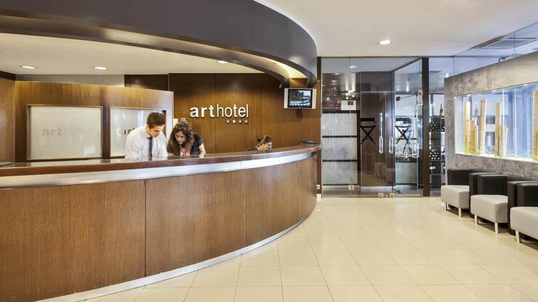 Reception p� hotel Acta Art, Andorra