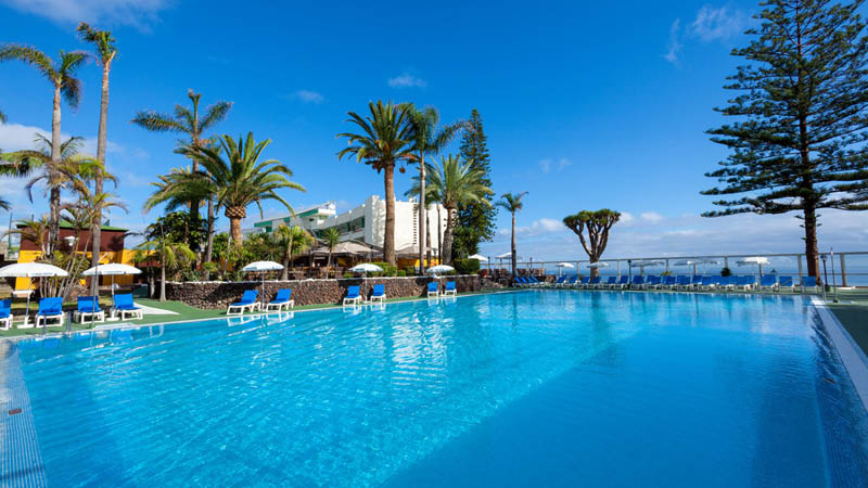 Poolen på Hotel Best Semiramis, Tenerife