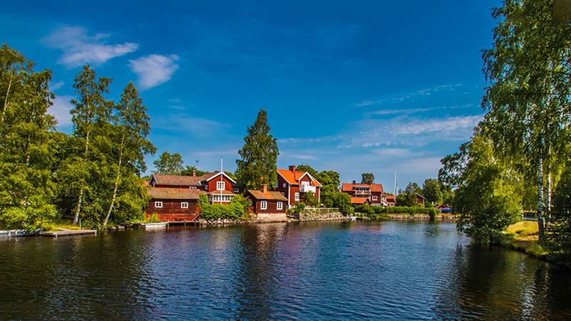 Smukke svenske landsbybilleder med Kulturrejser Europa