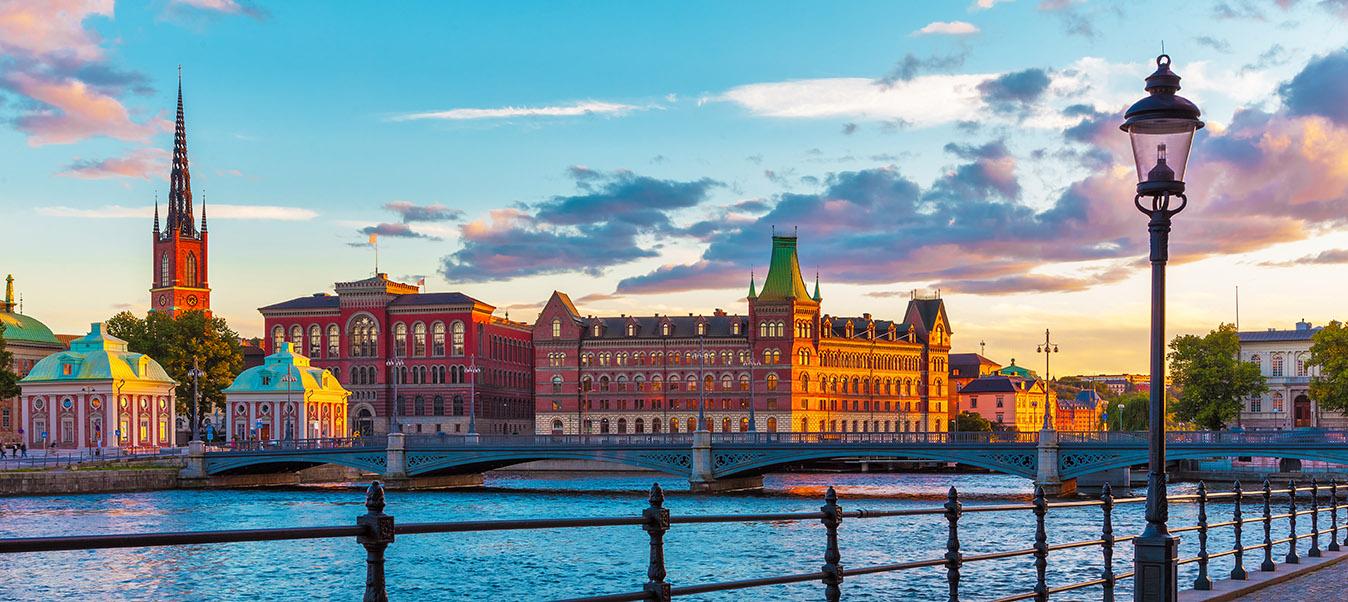 Smukke Stockholm i Sverige med Kulturrejser Europa