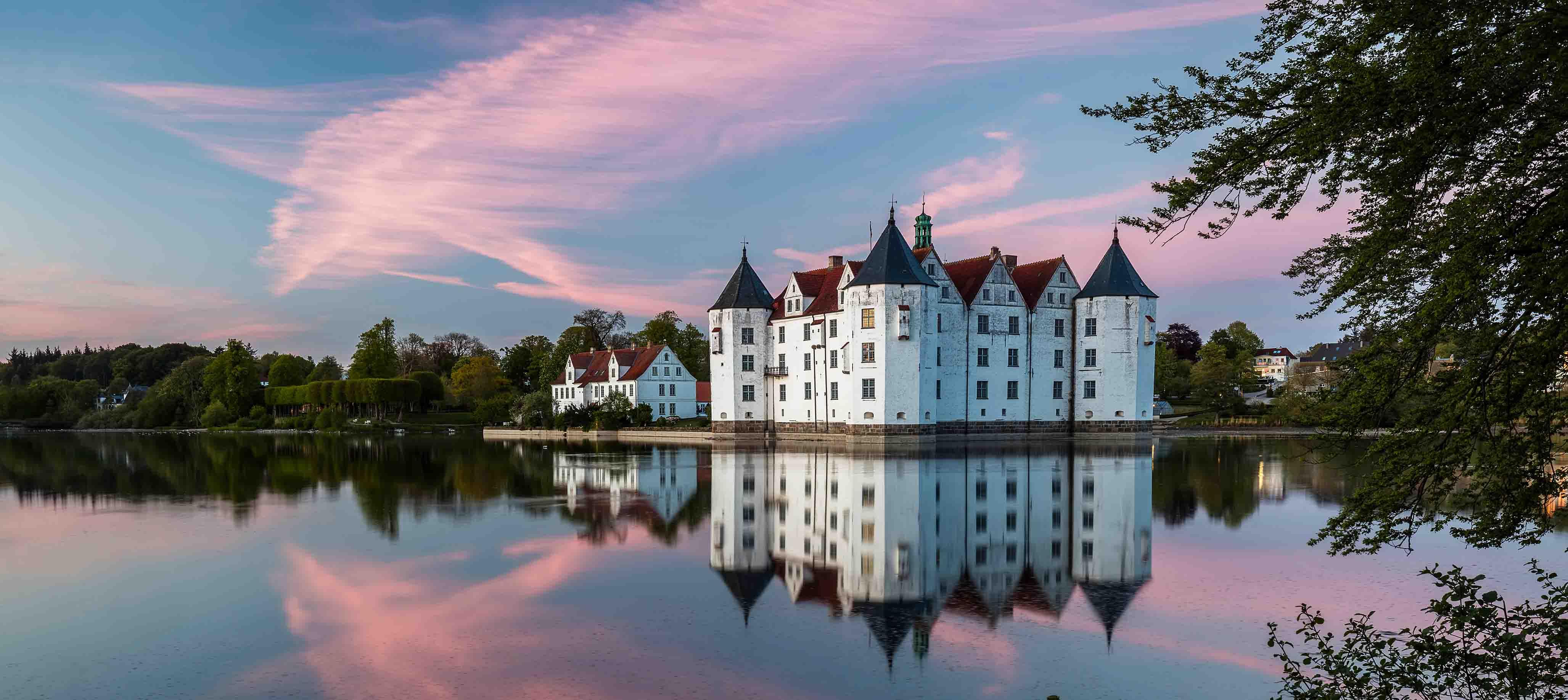 Lyksborg Slot ved Flensborg