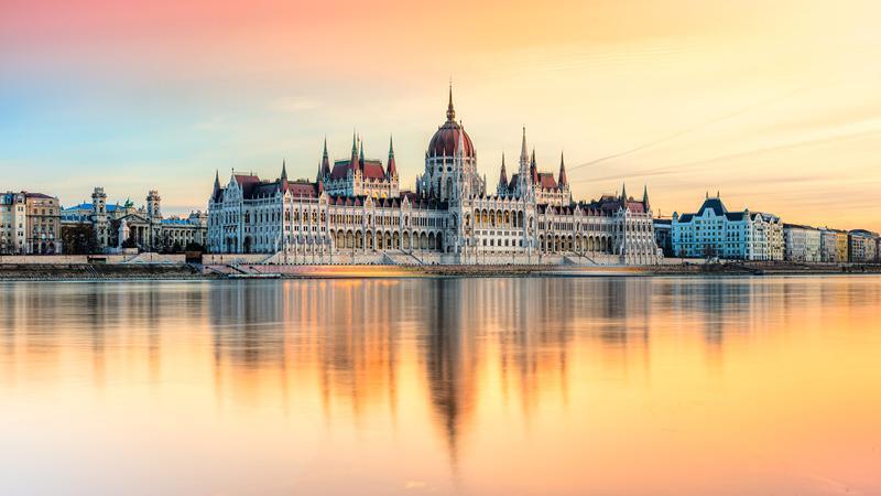 Parlamentsbygningen i budapest