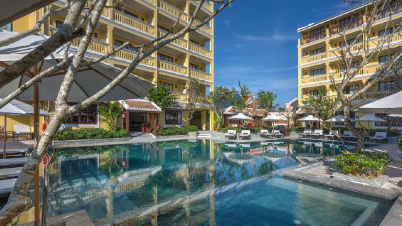 Pool litte hoian central boutique hotel vietnam
