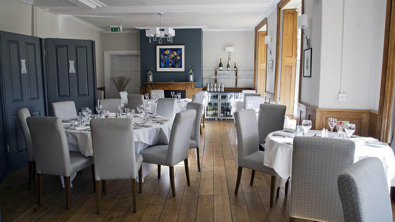 restaurant p� The Castle Of Brecon Hotel wales