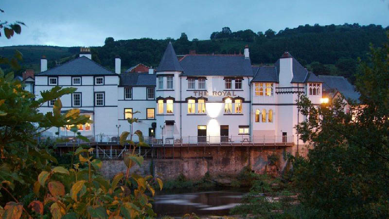 the royal hotel llangollen wales